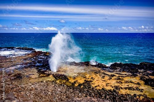 Fényképezés  Ocean blowhole