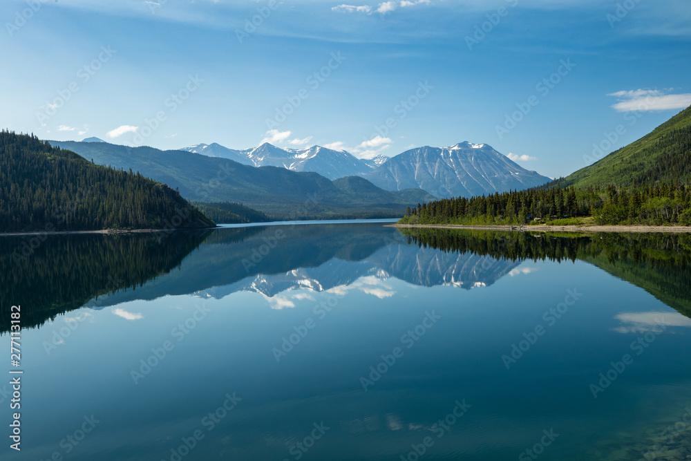 Fototapety, obrazy: Landschaft mit See in Kanada