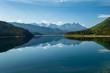 canvas print picture - Landschaft mit See in Kanada
