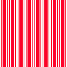 Red White Vertical Stripes Pattern, Seamless Texture Background