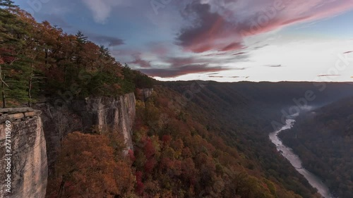 Obraz na plátně  New River Gorge, West Virgnia, USA