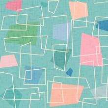 Retro 1950's Shapes Background