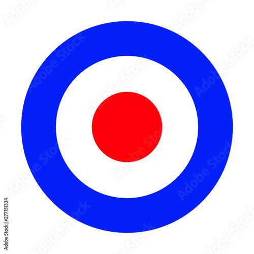 Fotografie, Obraz Mod target RAF roundel