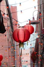 Lanterns In Fan Tan Alley