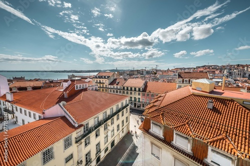 Lisabon rooftops - Portugal Canvas Print