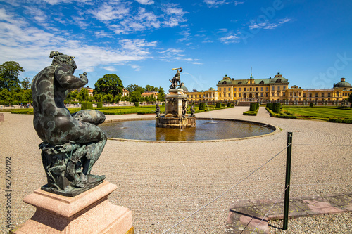 Foto auf AluDibond Stockholm Drottningholm palace