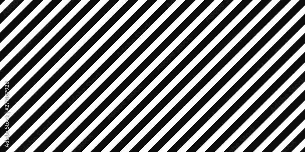 Fototapeta Diagonal black stripes on white pattern background
