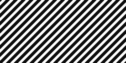 Diagonal black stripes on white pattern background