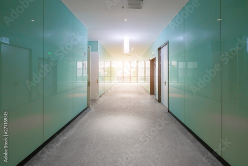 Fotomural  Entrance hall and empty floor tile, interior space