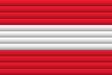 National Flag Of Austria. For Independence Day.