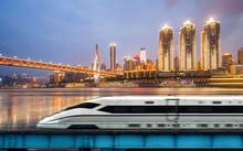 High-speed Rail Speeds On Brid...