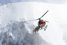 Volunteer Mountain Rescue Service In Action