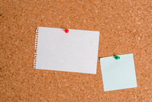 Corkboard Color Size Paper Pin Thumbtack Tack Sheet Billboard Notice Board
