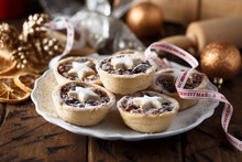 Homemade Festive Mince Pies On...