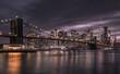 Die Brooklyn Bridge, gehört wohl zu den bekanntesten Brücken der Welt.