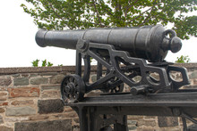 Cannon On The Outskirts Of Que...