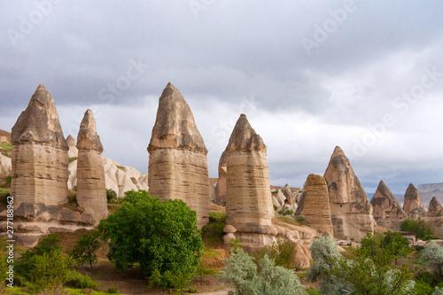 Fototapeta  Love valley in Goreme village, Turkey