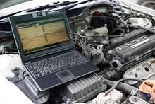 Computer Diagnostics Of The Car.