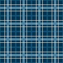 Dark Blue Plaid Pattern