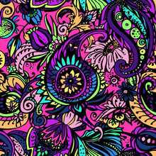 Textile Paisley Pattern