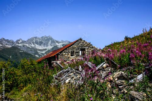 Cadres-photo bureau Amsterdam paysage de Savoie