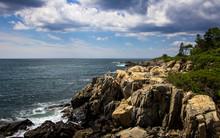 Ocean Cliffside View In Kenneb...