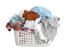 Basket Full Of Dirty Laundry I...