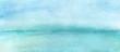 Leinwandbild Motiv Watercolor Abstract Beach
