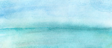 Watercolor Abstract Beach