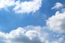 White Dense Cumulus Clouds On ...