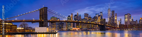 Photo sur Aluminium New York Brooklyn bridge New York