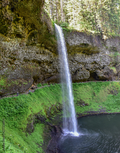 Pacific Northwest Oregon State Park Waterfall