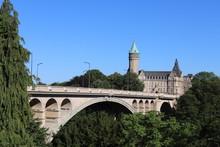 Le Pont Adolphe Ouvert En 1903 Dans La Ville De Luxembourg
