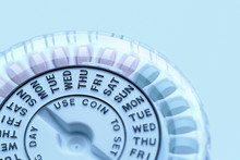 Closeup Of Birth Control Pill ...