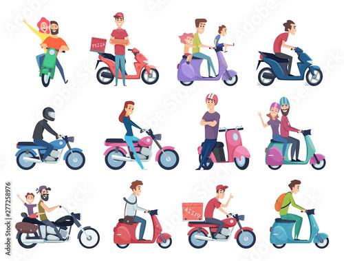 Fotografija Motorcycle riders