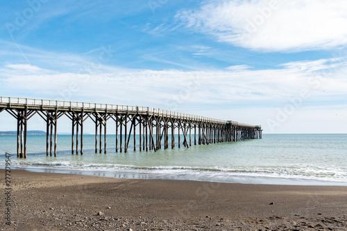 Cuadros en Lienzo San Simeon Pier in California