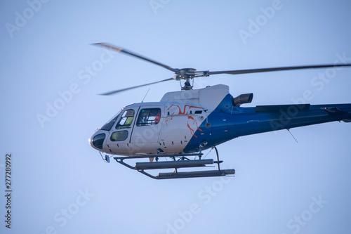 Türaufkleber Hubschrauber Helicopter in flight