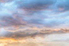 Colorful Soft Sunset Clouds - ...