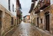 medieval streets of Santillana del Mar