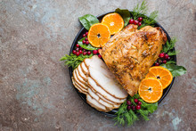 Roasted Turkey Breast For Fest...