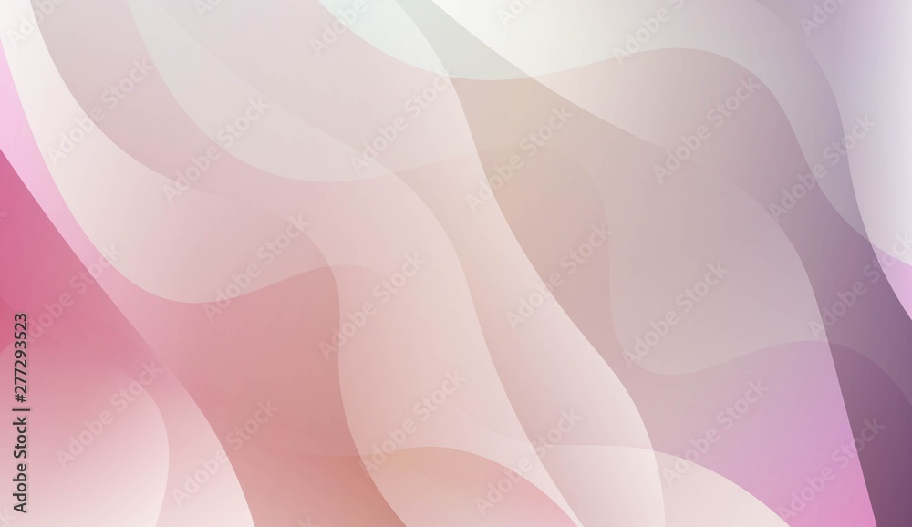 Fototapeta Abstract Waves. Futuristic Technology Style Background. For Futuristic Ad, Booklets. Vector Illustration with Color Gradient.