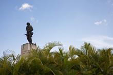 Santa Clara, Cuba - July 21, 2018: Che Guevara's Monument And Mausoleum At Santa Clara, Cuba