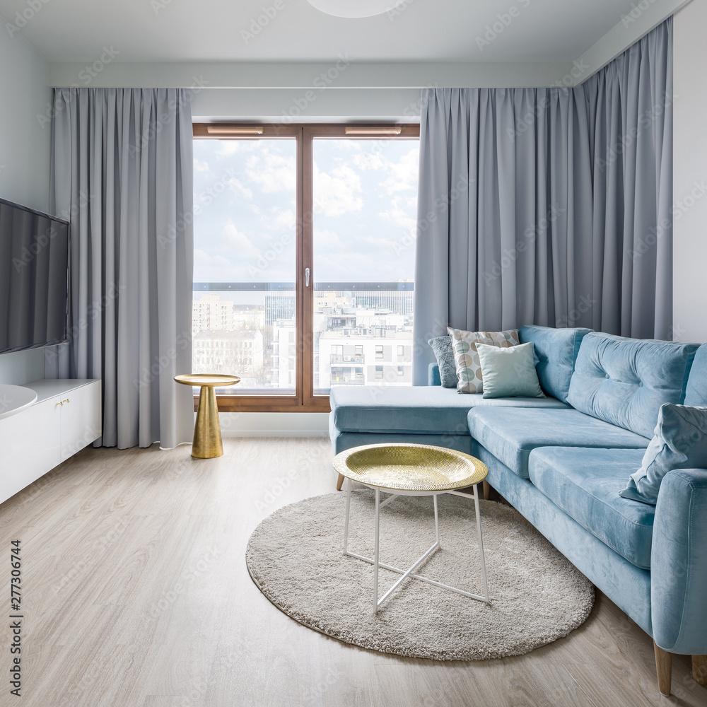 Fototapety, obrazy: Bright living room interior