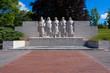 Das Denkmal für die Gefallenen des 1. Weltkrieges in Verdun/Frankreich