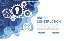 Under Construction Website Pag...