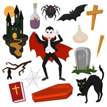 Vampire Vector Cartoon Dracula...