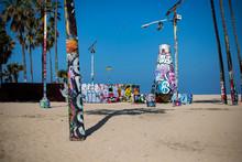 Venice Public Art Walls, Venice Beach, Santa Monica, California, United States