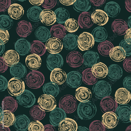 Seamless abstract pattern Tablou Canvas
