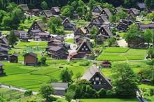 Shirakawago In Hida Gifu, Japa...