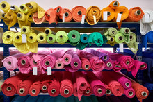 Fabric Warehouse With Many Mul...
